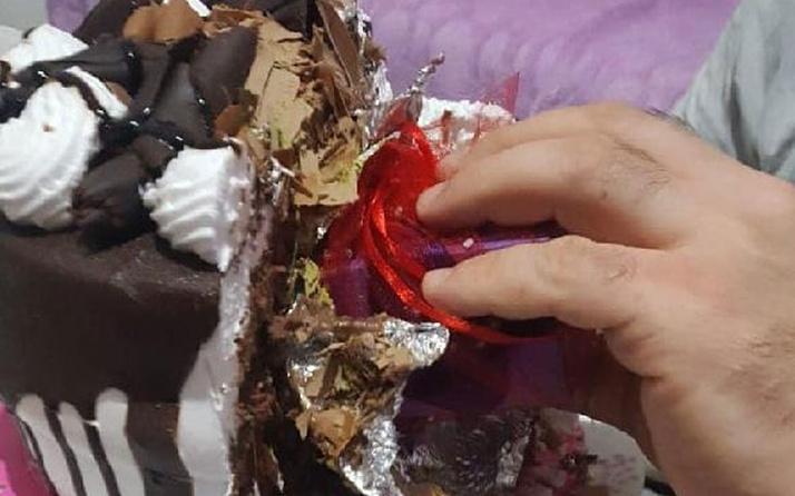 Amasya'da yılbaşı pastasından tektaş yüzük çıktı! Vatandaş şaşkına döndü