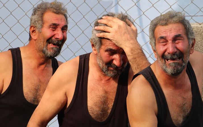 Antalya'dan yürek dağlayan kareler! Yaşlı adam gözyaşlarına boğuldu