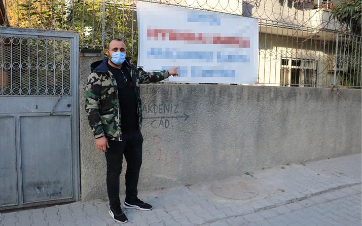 Adana'da bu yazıyı görenler dönüp bir daha bakıyor! Sosyal medyada olay oldu