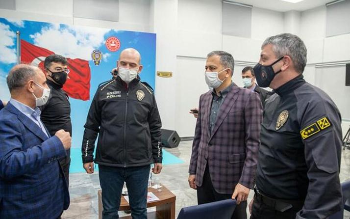 Süleyman Soylu Takviye Kuvvet Müdürlüğü'nü ziyaret etti