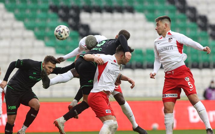 Gaziantep FK'yi eleyen Konyaspor çeyrek finaldeki yerini aldı