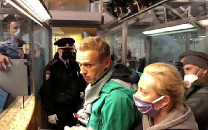Rus muhalif Aleksey Navalni gözaltında