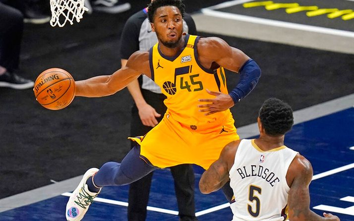 Utah Jazz, galibiyet serisini 6 maça çıkardı