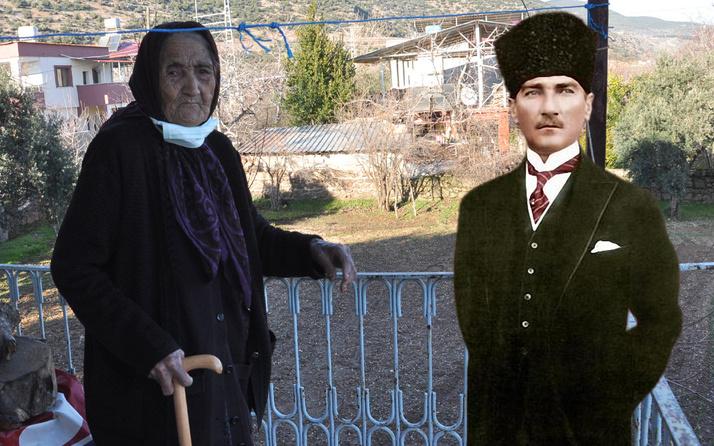Gaziantep'te Fatma Nine Atatürk'ü görüşünü anlattı: Boyum yetmeyince...