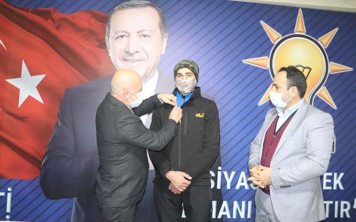 Artvin'de Recep Tayyip Erdoğan AK Partili oldu