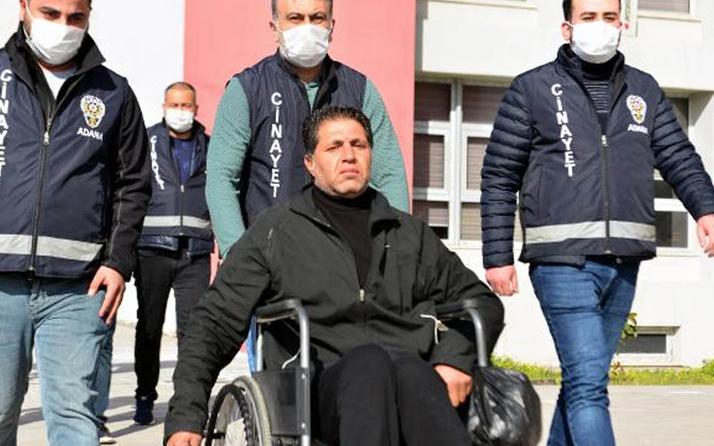 Adana'da tekerlekli sandalyeye mahkum kalmanın intikamını 24 yıl sonra yeğenine aldırdı