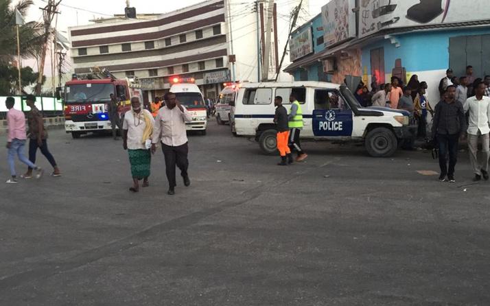 Somali'nin başkenti Mogadişu'da büyük bir patlama meydana geldi