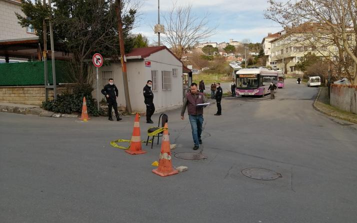 İstanbul Sarıyer'de durakta otobüs bekleyen kişiye silahla ateş açıldı