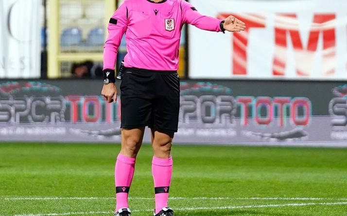 Süper Lig'de yarın oynanacak maçların hakemleri belli oldu