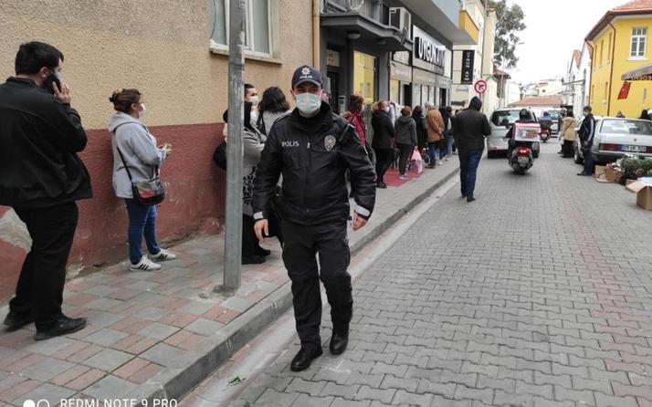 Aydın'da kampanyayı duyan akın etti! Koronavirüs unutuldu