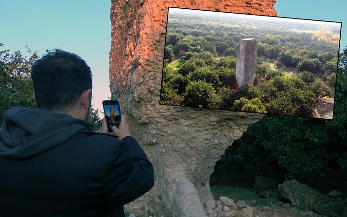 9 metre yüksekliğinde! Antalya'da bahçede gören telefona sarıldı