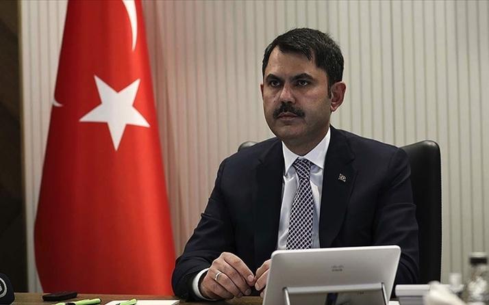 Bakan Murat Kurum'dan iklim değişikliği açıklaması