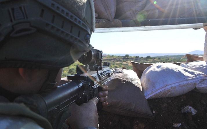 Barış Pınarı ve Fırat Kalkanı bölgesine sızma girişiminde bulunan 3 terörist etkisiz hale getirildi
