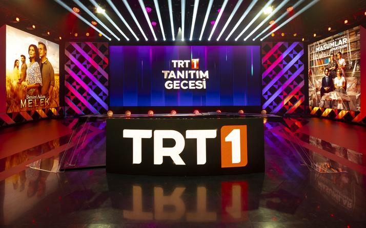 """""""TRT 1 Tanıtım Gecesi""""nde değişim seyircinin beğenisine sunuldu"""