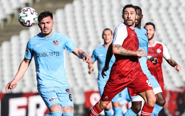 Gaziantep FK'nin düşüşü Fatih Karagümrük karşısında da devam etti