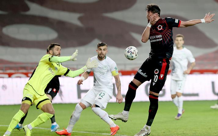 Konyaspor ile Gençlerbirliği yenişemedi