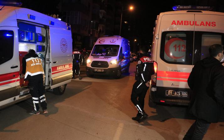 Adana'da boşanma aşamasındaki şahıs dehşet saçtı 1 ölü 3 yaralı