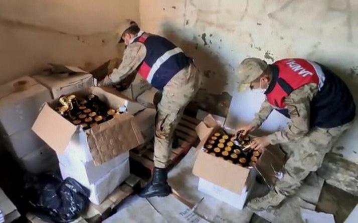 Şanlıurfa'da 5,5 ton sahte içkiye 3 gözaltı