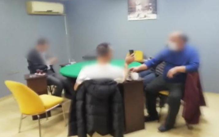 İzmit'te kafede oyun oynayan 13 kişiye 52 bin 650 lira ceza