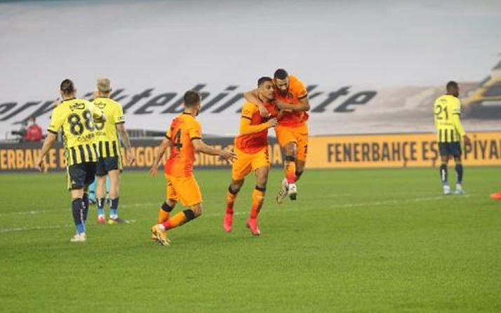 Fenerbahçe-Galatasaray derbi maçı özet ve golleri