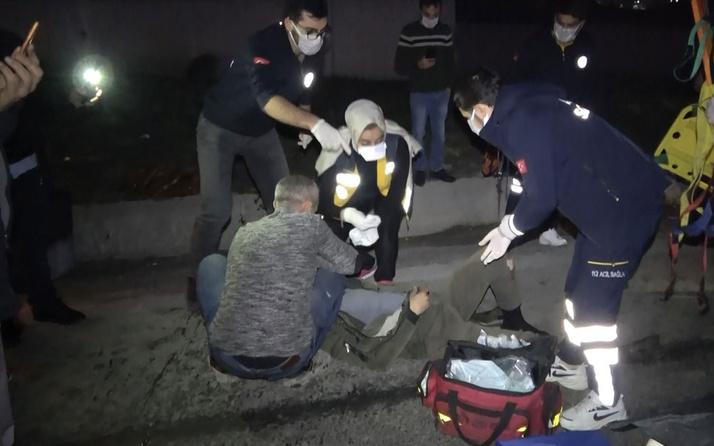 Başakşehir'de feci kaza; 11 yaşındaki kız çocuğu kalp masajıyla hayata döndürüldü