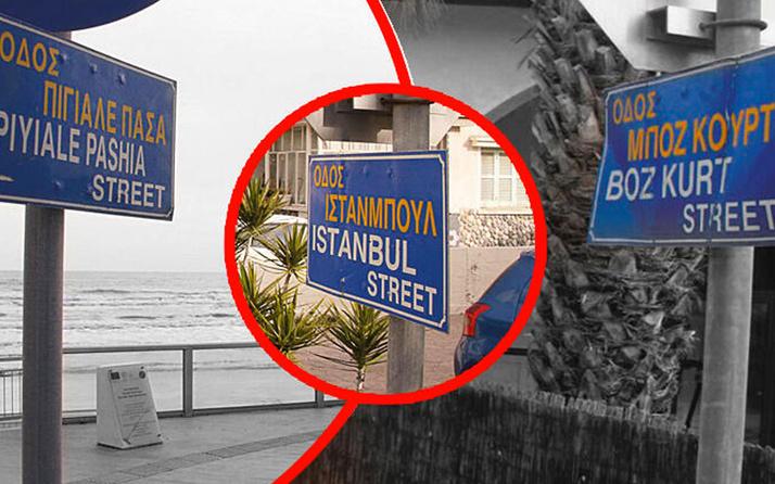 Rum yönetimi Türkçe sokak adlarını tek tek siliyor