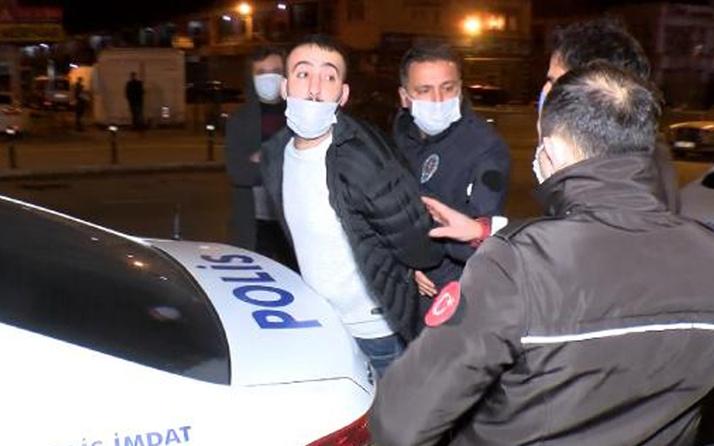 Ümraniye'de polislerin üzerine araç sürüp kaçtı! Ehliyetsiz ve alkollü çıktı