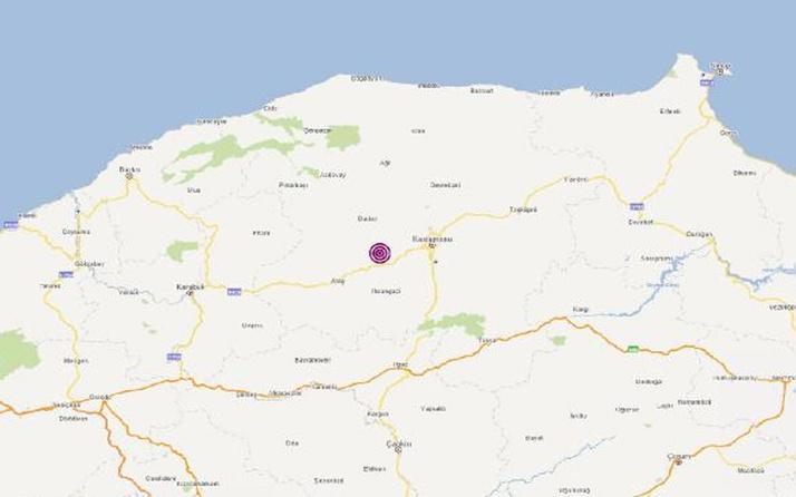 Kastamonu'da 4.5 büyüklüğünde deprem! AFAD duyurdu