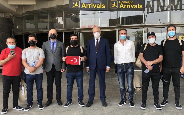 Nijeryalı korsanların kaçırdığı 15 Türk gemici Türkiye'ye yola çıkıyor