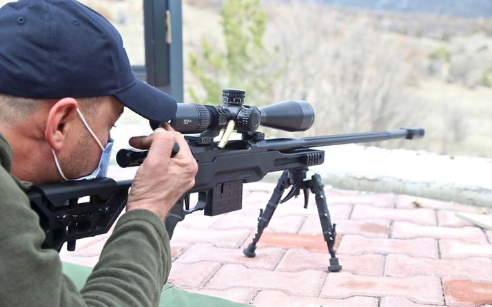 Konya'da üretilen yerli keskin nişancı tüfeği OVİS'e talep yağıyor