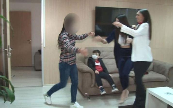 İkna edilerek teslim olan kadın terörist Bursa'da ailesine kavuştu!