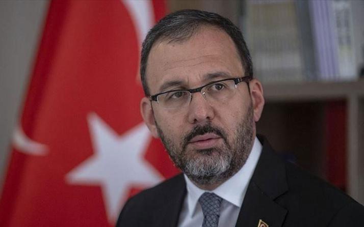 Mehmet Muharrem Kasapoğlu'ndan milli sporculara tebrik