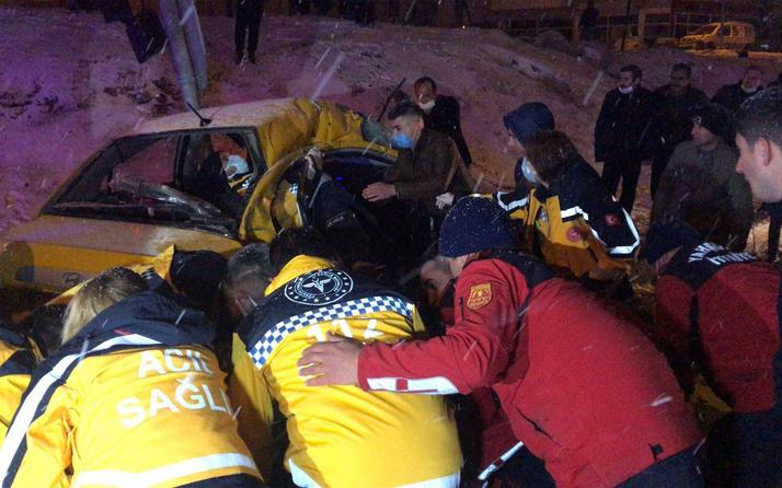 Kırıkkale'de yolcu otobüsü devrildi