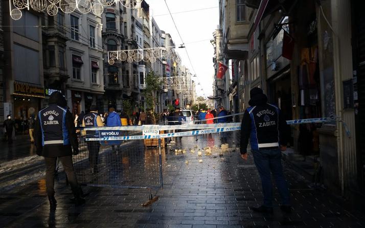 İstanbul İstiklal Caddesi'nde faciadan dönüldü