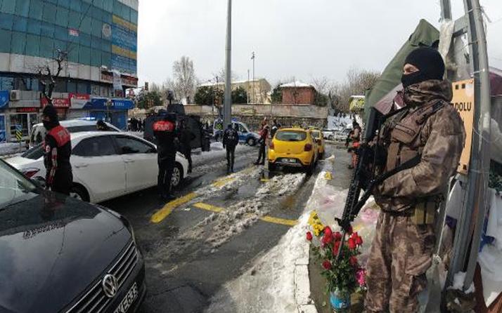 Okmeydanı'nda giriş çıkışlar kapatıldı! Polis geniş kapsamlı denetim yaptı