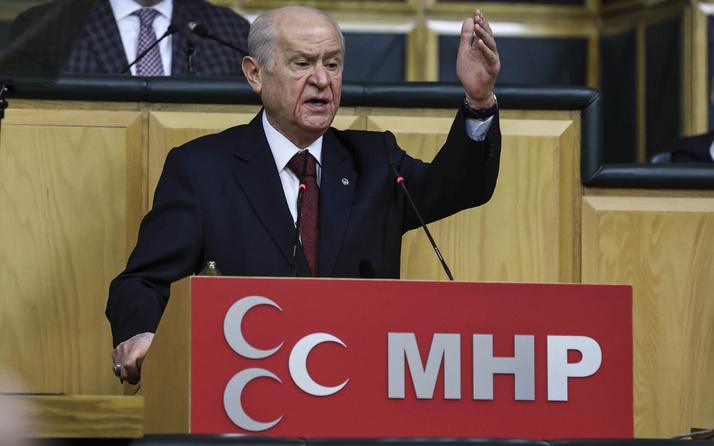MHP lideri Devlet Bahçeli 'den grup toplantısında ittifak çatlağı mesajı: Nal toplayacaklar!