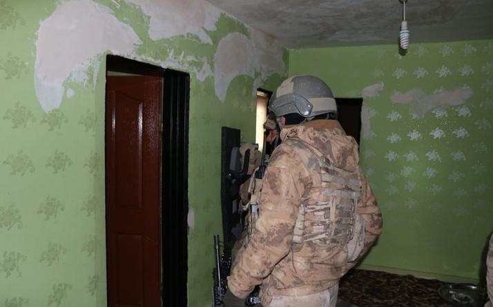 Diyarbakır'da 'Narko-Terör Tırpan-3' operasyonu: 5 gözaltı