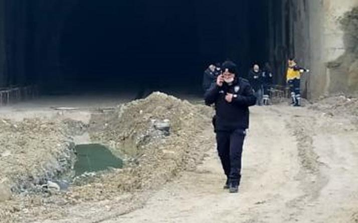 Bursa'da korkunç olay! Tünel girişince yanmış cesedi görünce şok oldular