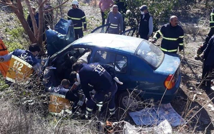 Hatay'da feci kaza! Yaşlı çifti ölüm ayırdı