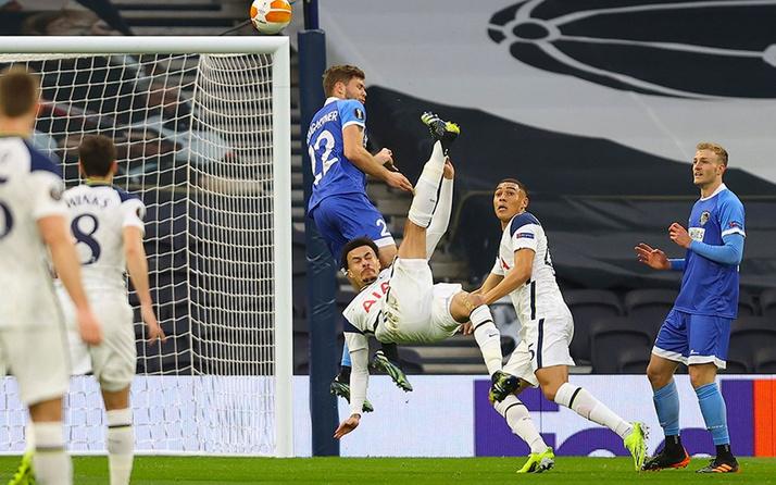 Tottenham güle oynaya turladı