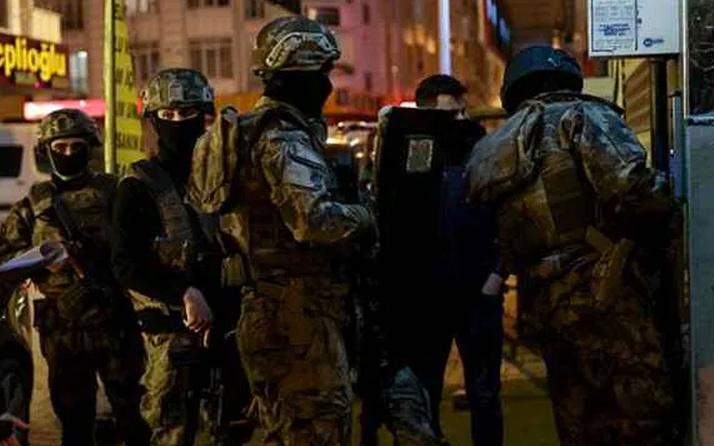İstanbul'da terör örgütü PKK'ya operasyon! Çok sayıda gözaltı var