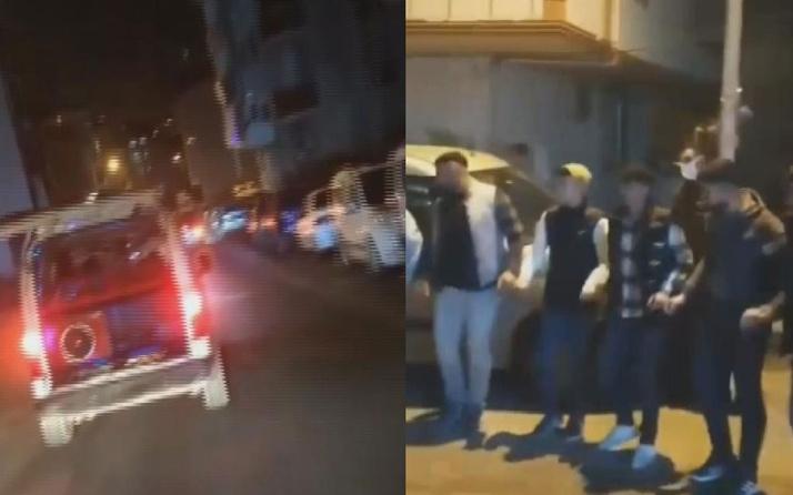 Arnavutköy'de asker eğlencesinde havaya ateş açan çocuk gözaltına alındı