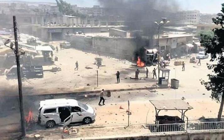 Afrin'de bombalı saldırı: 1 ölü, 3 yaralı