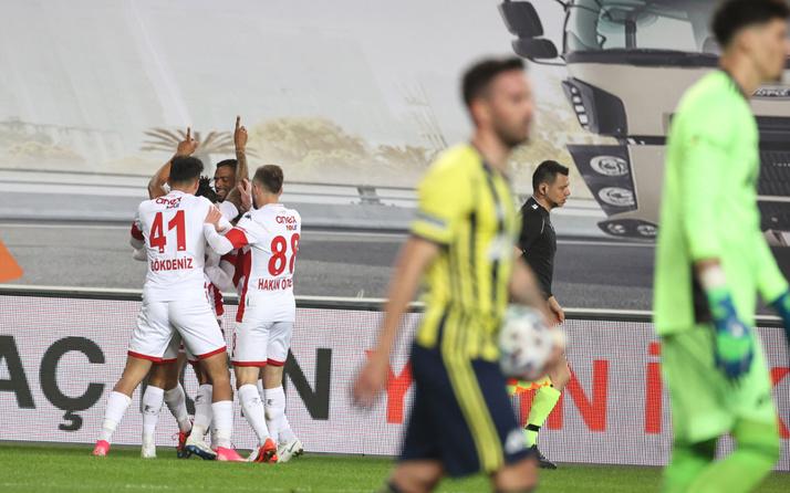 Fenerbahçe Antalyaspor maçı golleri ve geniş özeti