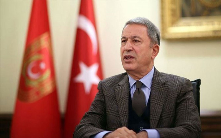 Milli Savunma Bakanı Hulusi Akar'dan Bitlis şehitleri için başsağlığı mesajı