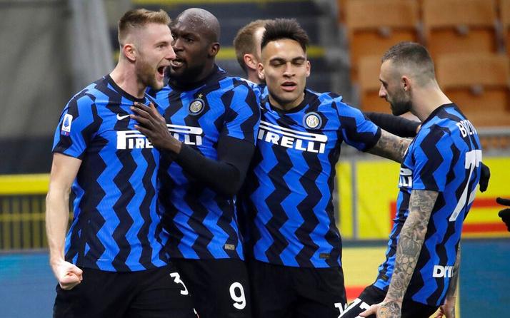 Inter, Atalanta'yı yıktı şampiyonluğa koşuyor