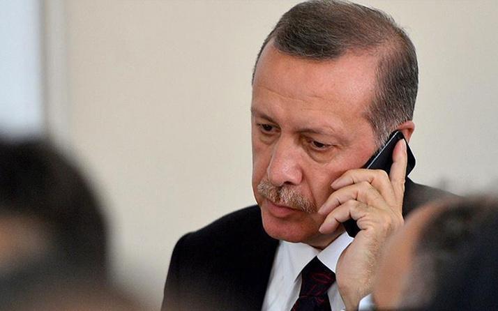 Cumhurbaşkanı Erdoğan memleketi Güneysu'daki sel felaketi için bilgi aldı