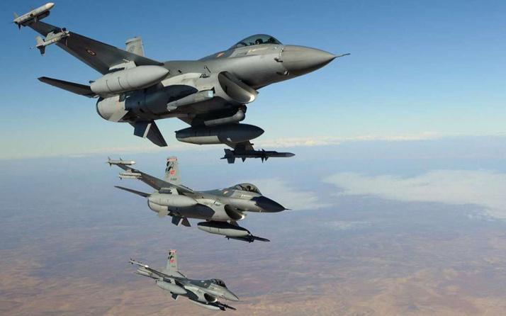 Kuzey Irak'ta PKK'lı 3 terörist hava harekatıyla etkisiz hale getirildi