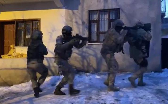 Van merkezli 3 ilde terör operasyonu! 5 şüpheli gözaltına alındı