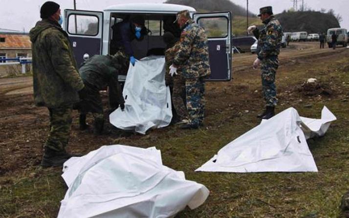 Ermenistan'da 248 cenaze morglarda bekliyor ölenler arasında PKK'lılar da var